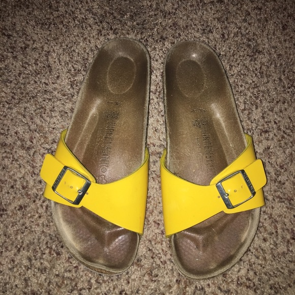 Yellow Birkenstock Madrid 39
